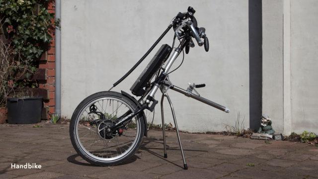 Buitenvervoer handbike
