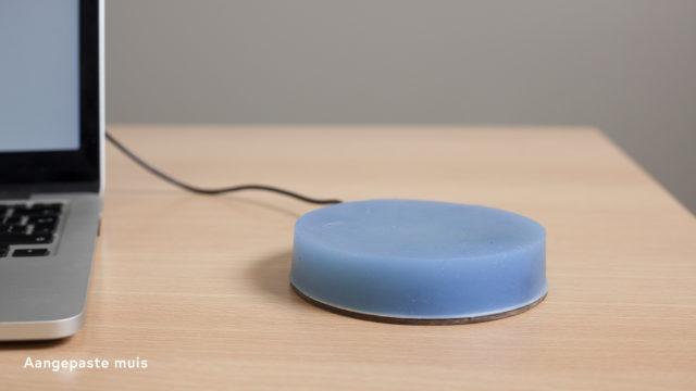 Communicatiehulpmiddelen aangepaste muis