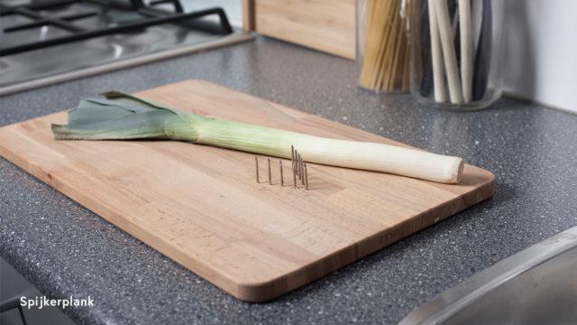 Spijkerplank hulpmiddelen bij koken
